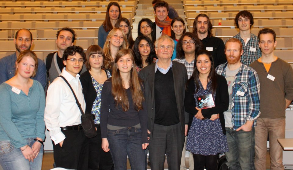 Cohort 2011 with Richard Dawkins