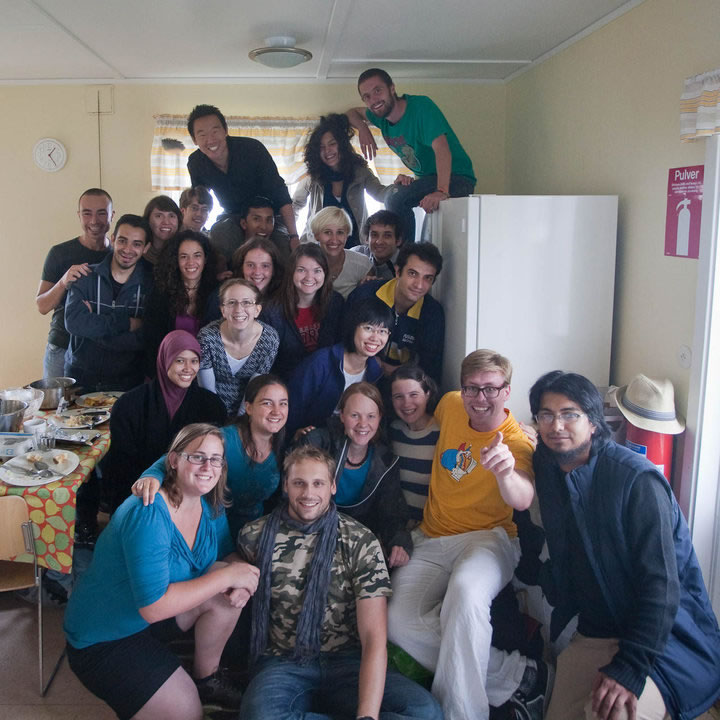 First cohort at Uppsala Summerschool, 2010