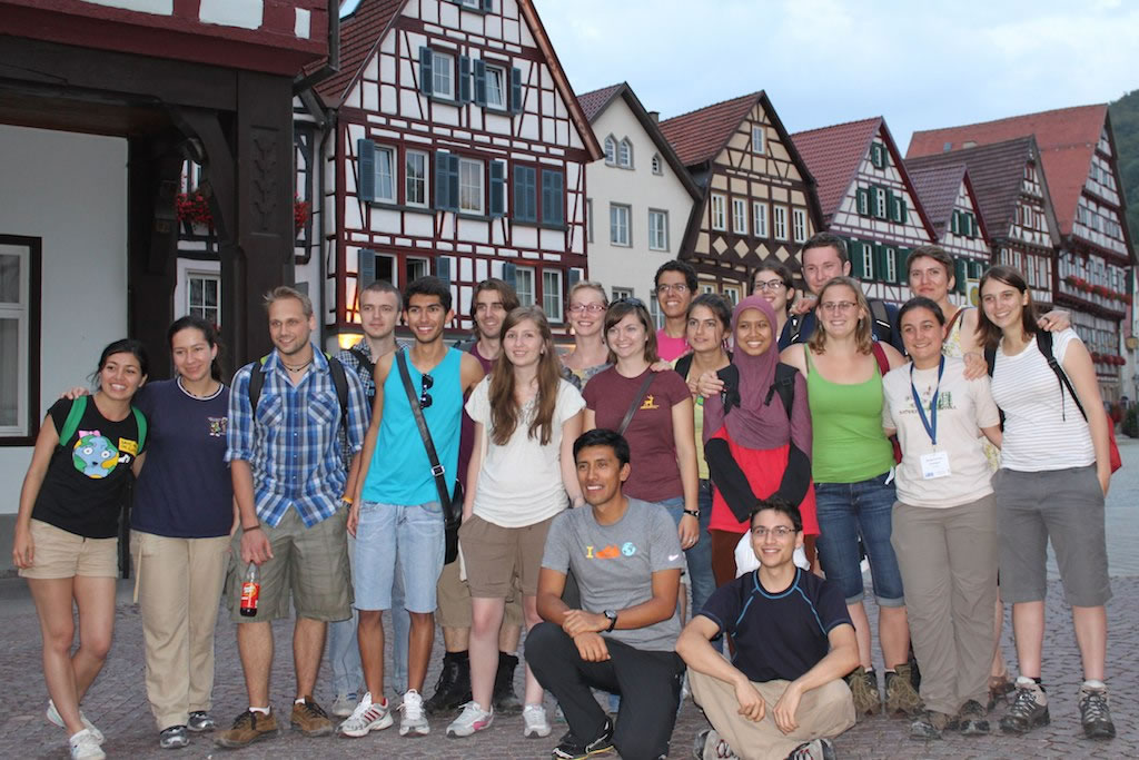 Second cohort at Tubingen summer school, 2011