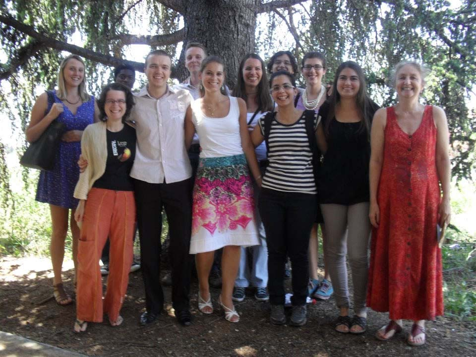 Third cohort at Montpellier summer school, 2012
